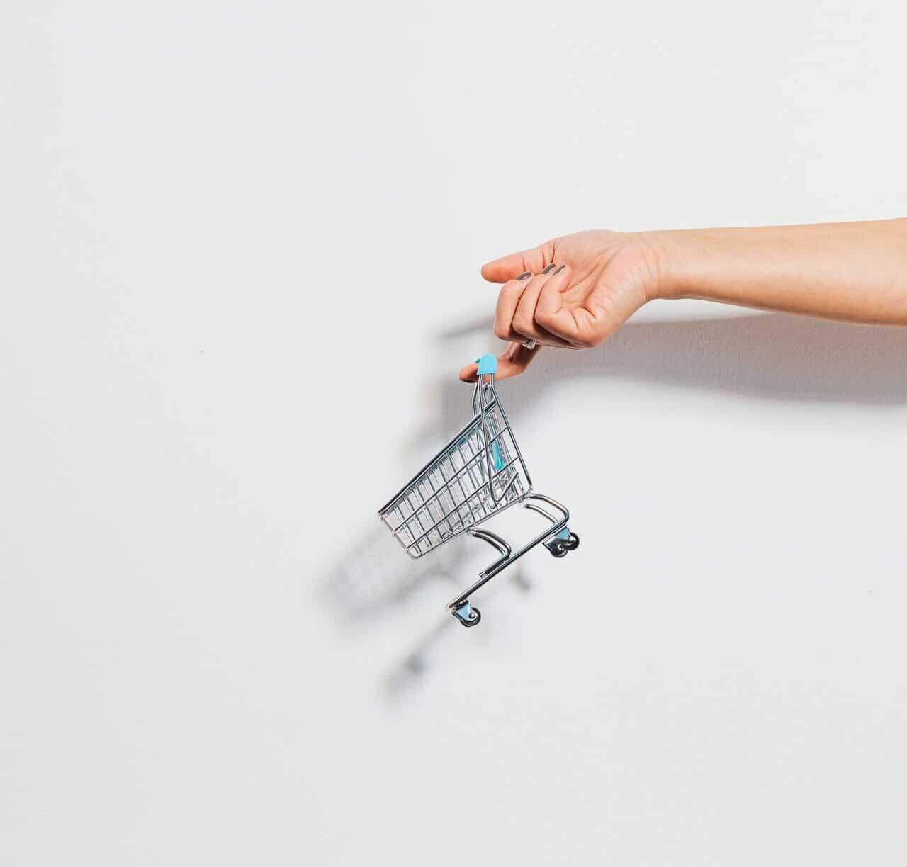 Hylätty ostoskori
